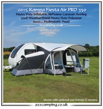 Kampa Air Pro Awning 2015